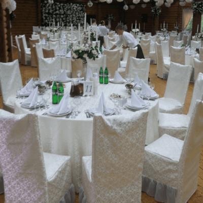 круглий весільний стіл